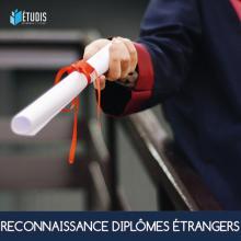 Reconnaissance diplôme étranger